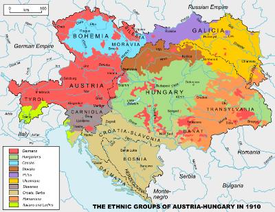 Austria_Hungary  Languge Map 3