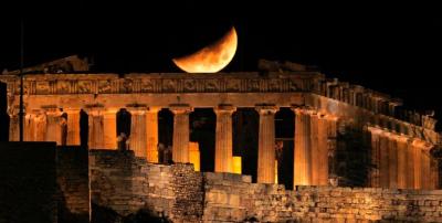 Partenon closeup