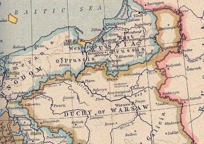 Duchy_of_Warsaw_and_Republic_of_Danzig Closeup