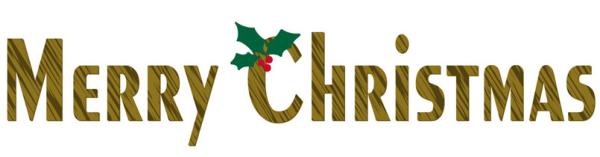 メリークリスマス文字2a