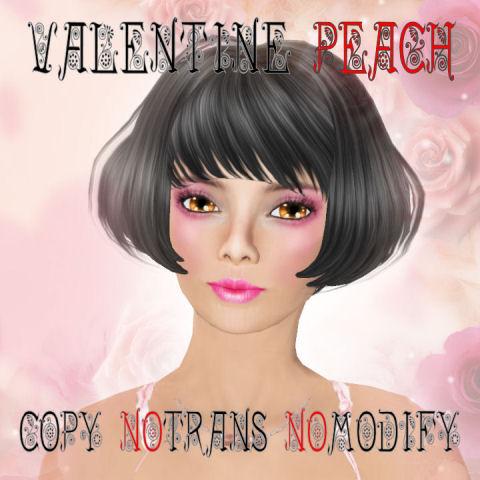 Valentine Peach Panel