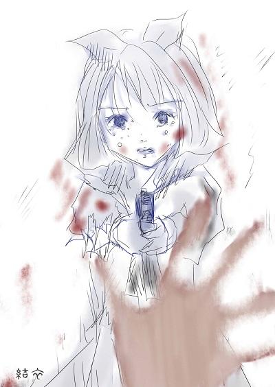 「flowery zombie」2