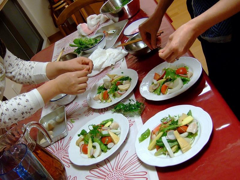 ■ イタリアン お料理教室 上野先生 【2010年4月】