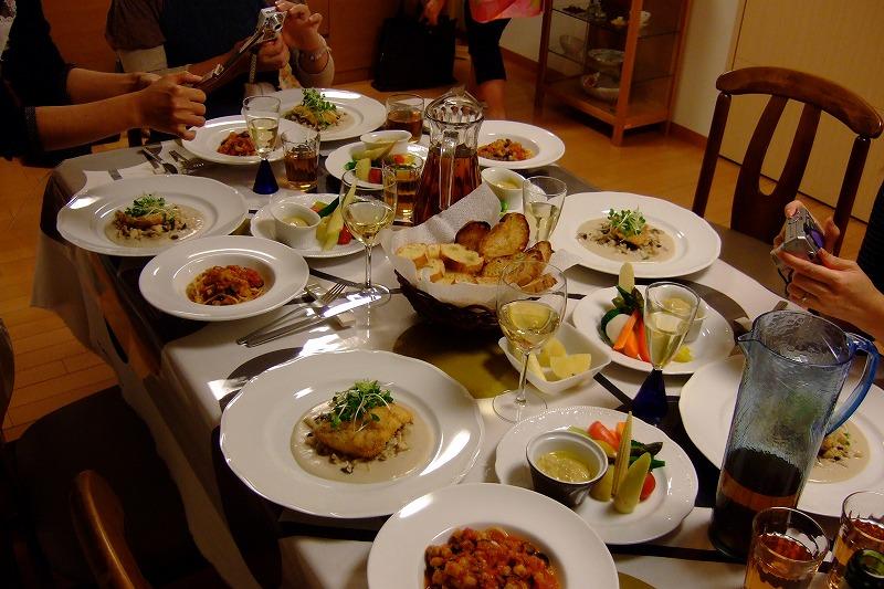 ■ イタリアン お料理教室 上野先生 【2009年10月】