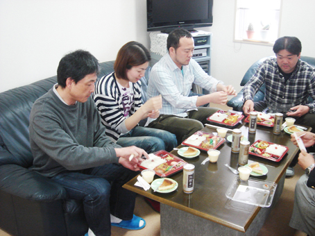5月の昼食会