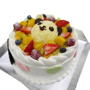 アニマルケーキのふわふわパンダ