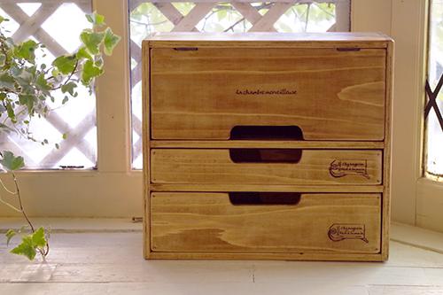 ハンドメイドな福袋*木製キッチンミニキャビネット