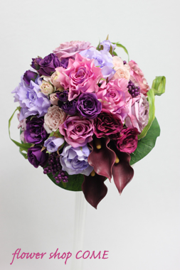 造花パープル