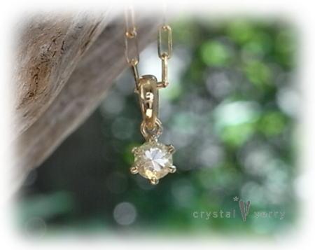 crystal-verry* クリスタルベリー*オーナーのブログ*-水晶 プチネックレス