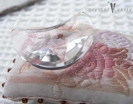 crystal-verry* クリスタルベリー*オーナーのブログ*-月型水晶