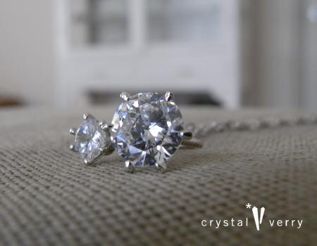 crystal-verry* クリスタルベリー*オーナーのブログ*-水晶 ベビーリング