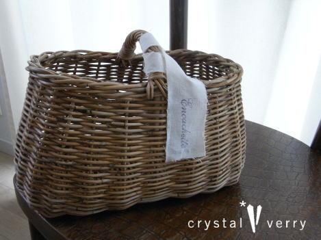 crystal-verry* クリスタルベリー*オーナーのブログ*-アンキャシェットのカゴ 通販