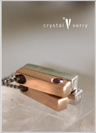 crystal-verry* クリスタルベリー *・オーナーのブログ・*-クリスタルベリー ペアペンダント