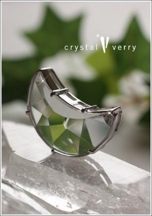 crystal-verry* クリスタルベリー *・オーナーのブログ・*-月の水晶ペンダント