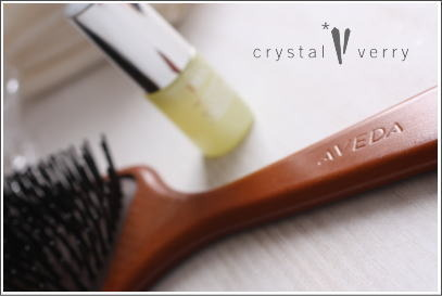 crystal-verry* クリスタルベリー *・オーナーのブログ・*-AVEDAのブラシ