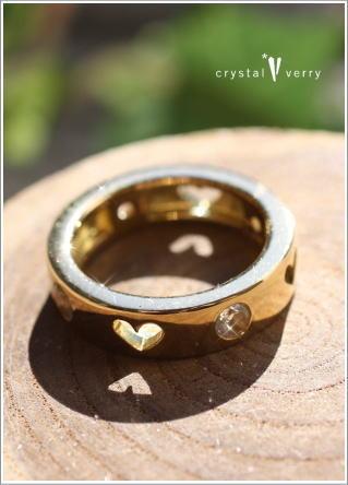crystal-verry* クリスタルベリー *・オーナーのブログ・*-K18水晶リング