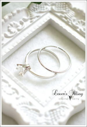 crystal-verry* クリスタルベリー *・オーナーのブログ・*-ブライダルリング 水晶