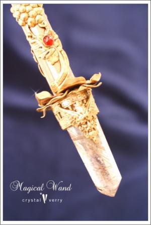 crystal-verry* クリスタルベリー *・オーナーのブログ・*-クリスタルのエンジェルのワンド