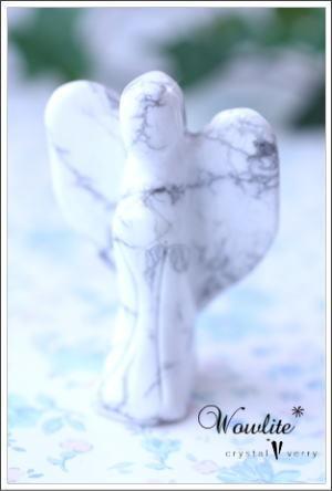 crystal-verry* クリスタルベリー *・オーナーのブログ・*-ハウライト 天使