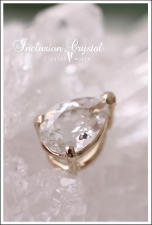 crystal-verry* クリスタルベリー *・オーナーのブログ・*-蛍光インクルージョン水晶