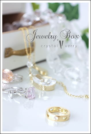 crystal-verry* クリスタルベリー *・オーナーのブログ・*-ジュエリーを磨く クリスタル ベリー
