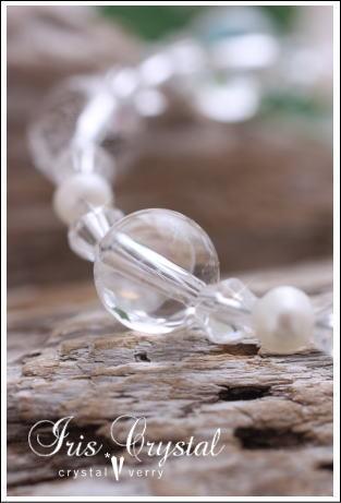 crystal-verry* クリスタルベリー *・オーナーのブログ・*-アイリス クリスタル ブレスレット