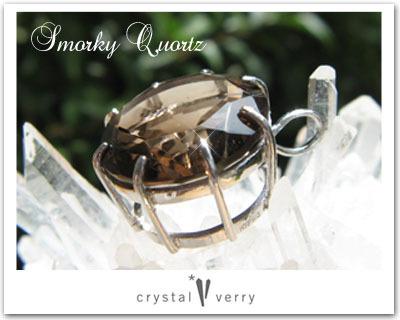 crystal-verry* クリスタルベリー *・オーナーのブログ・*-スモーキークォーツ ペンダント