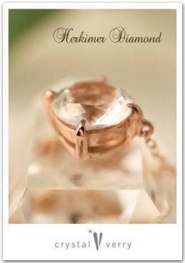crystal-verry* クリスタルベリー *・オーナーのブログ・*-ハーキマーダイヤモンド ネックレス