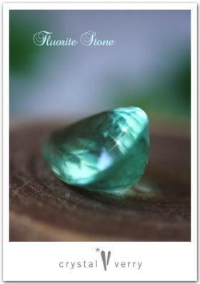 crystal-verry* クリスタルベリー *・オーナーのブログ・*-フローライト裸石