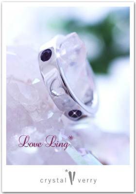crystal-verry* クリスタルベリー *・オーナーのブログ・*-アメジスト指輪