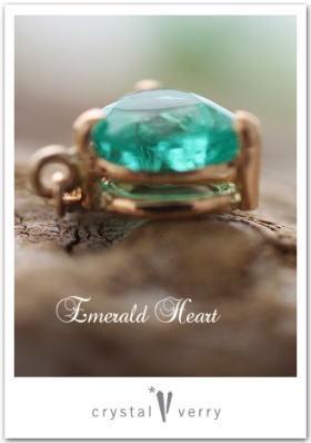crystal-verry* クリスタルベリー *・オーナーのブログ・*-エメラルドハート型 クリスタル ベリー