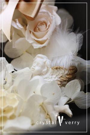 crystal-verry* クリスタルベリー *・オーナーのブログ・*-クリスタル天使 リース