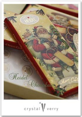 crystal-verry* クリスタルベリー *・オーナーのブログ・*-HEIDEL チョコレート クリスタル ベリー