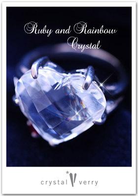 crystal-verry* クリスタルベリー *・オーナーのブログ・*-レインボー水晶のアクセサリー