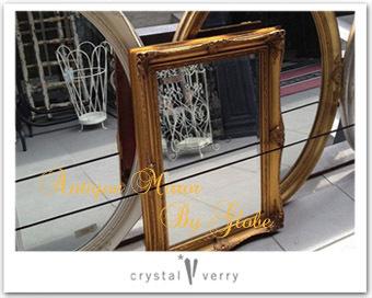 crystal-verry* クリスタルベリー *・オーナーのブログ・*-クリスタル ベリー アンティークミラー