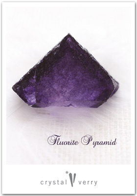 crystal-verry* クリスタルベリー *・オーナーのブログ・*-ピラミッドフローライト