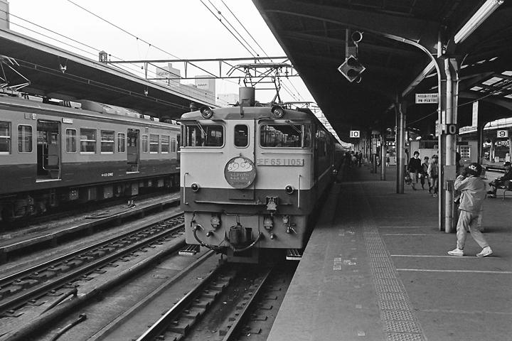 600403東京駅_寝台特急出雲