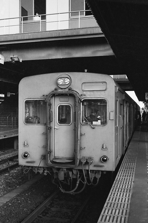 国鉄相模線_橋本駅_キハ35_再スキャン