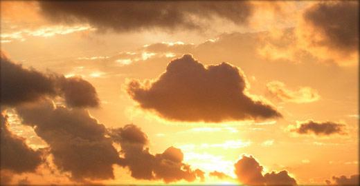 雲のテクスチャ素材集