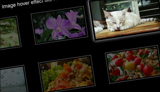 CSS3でのイメージギャラリー