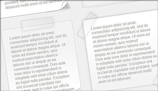 CSSでつくるクリエイティブなペーパーデザイン