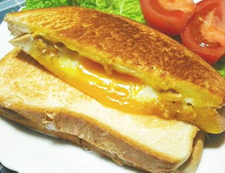 ツナチーズほっとサンド