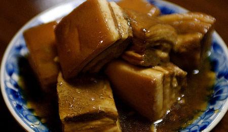 トロントロンな豚の角煮