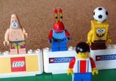 LEGOのキッチュなサポーター