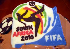 FIFAも驚きのチョコプレート