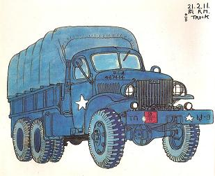 GMC CCKW353 21/2トン カーゴ・トラック