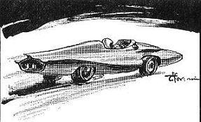 「まぼろしの試走車」その2_ザクロスX・1