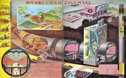 関門海底トンネルはこうして作られる