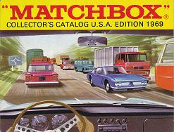 """MATCHBOX"" COLLECTOR'S CATALOG U.S.A.EDITION 1969"