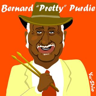 Bernard Pretty Purdie caricature